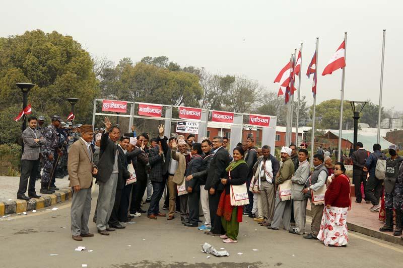 नेपाली कांग्रेसद्वारा महाधिवेशनस्थल बुकिङ